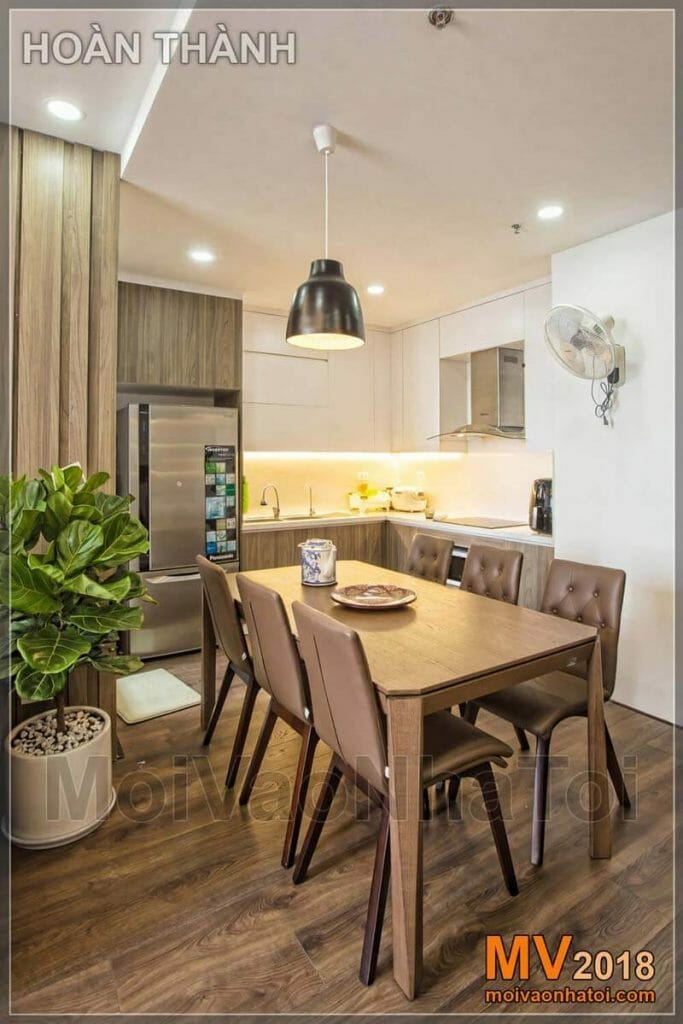 Interior design of the apartment kitchen according to feng shui