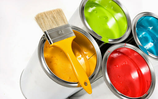 Choice of home paint colors