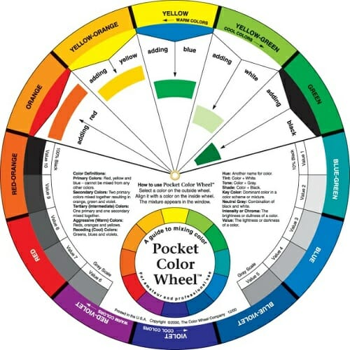 Wall paint color picker