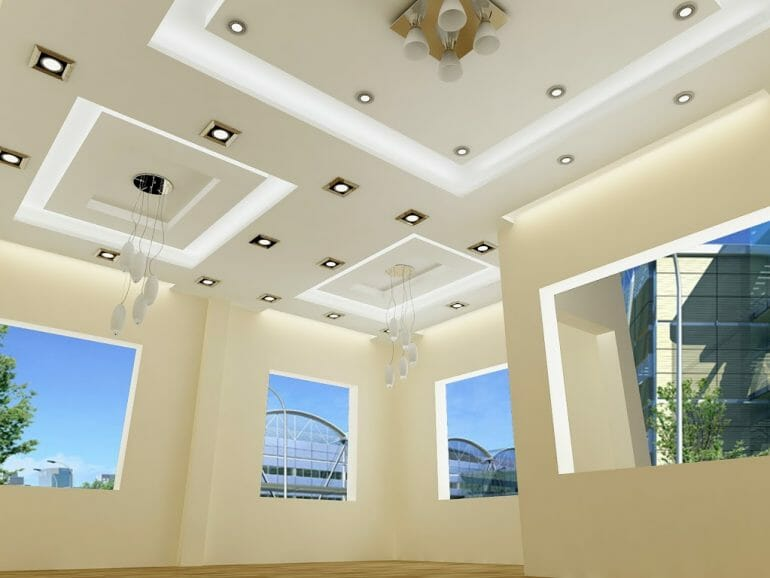 ceiling type plasterboard for housing