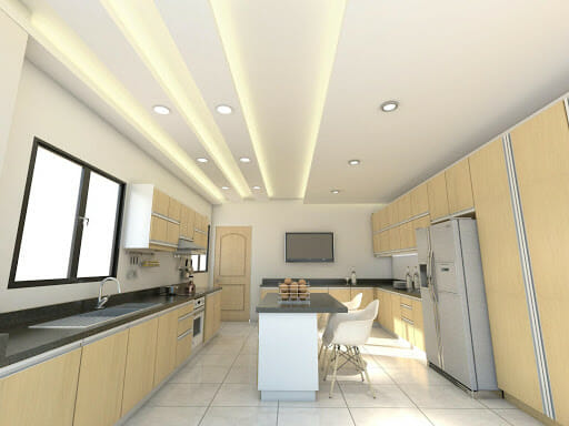 What is submersible plasterboard ceiling
