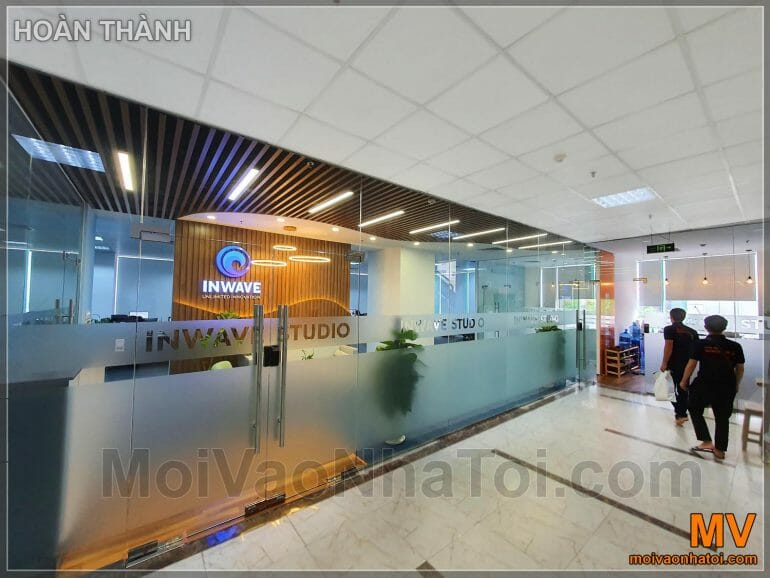 Inwave Office Front Hall Design