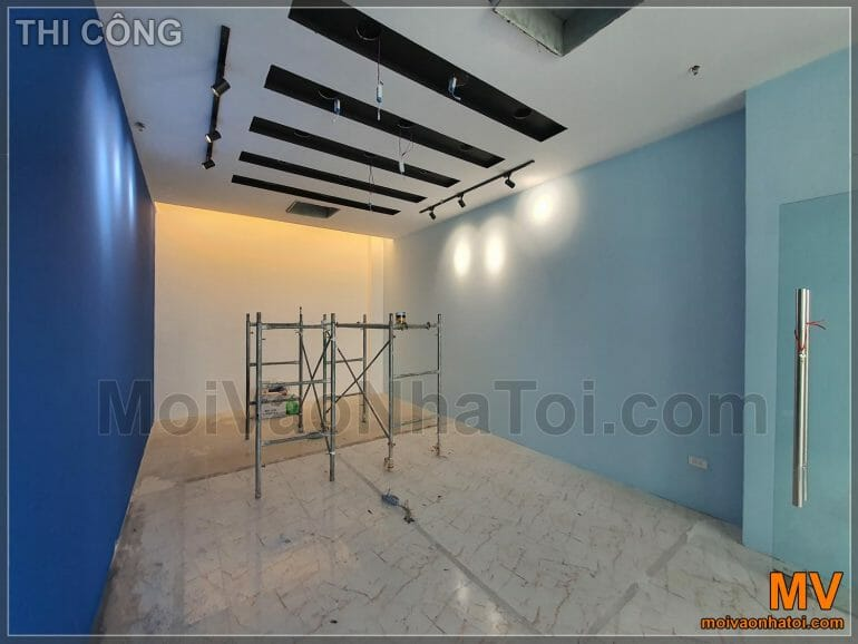 Meeting room construction process
