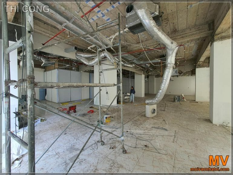 Current status of commercial office handover