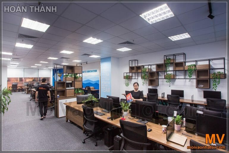 Design and construction of office furniture