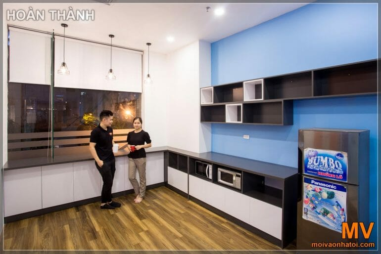 Design and construction of pantry corporate office