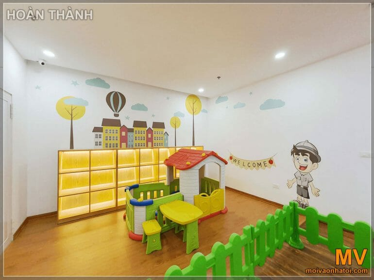 Children's play area for cafe