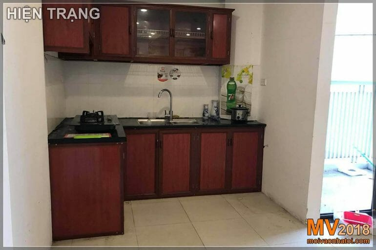 Current situation of kitchen in Dang Xa Gia Lam urban area