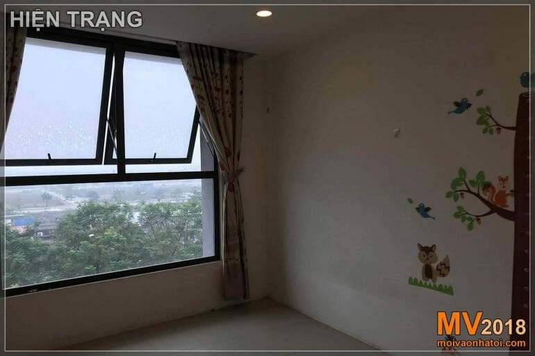 The situation of apartment building in Dang Xa Gia Lam urban area