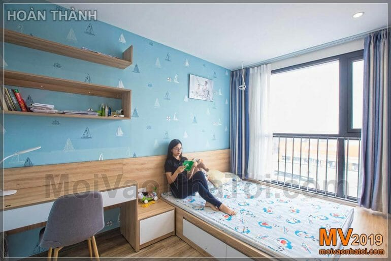 Interior design of child bedroom