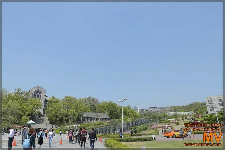 ARCHITETTURA EWHA KOREA WOMEN'S UNIVERSITY