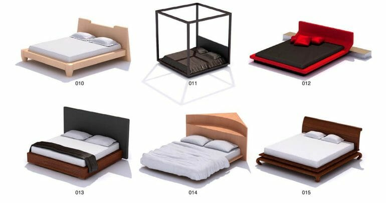 NICE SLEEPING BEDS, UNIQUE DESIGN AND BRANDS Part 1