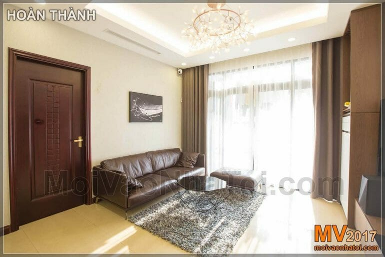 Design and construction of Royal city apartment 100m2