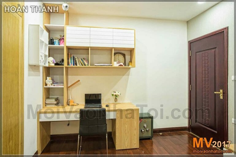 design and construction of a bedroom of Royal City apartment 100m2