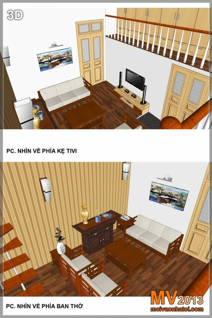 CONSTRUCTION DESIGN IMPROVING INTERIOR SMALL HOUSE